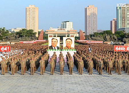 北韓が2年ぶりの人民軍大会 戦勝記念日を前に
