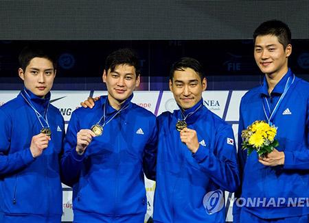Corea queda en tercer lugar en el Campeonato Mundial de Esgrima