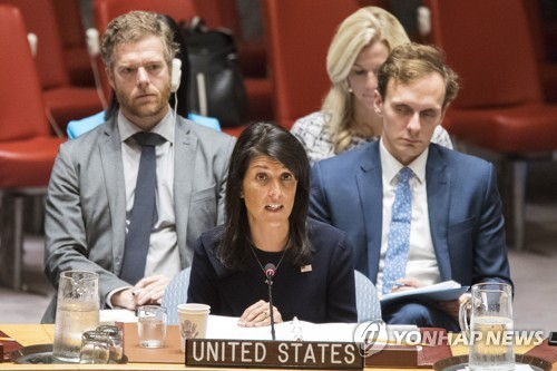 Haley: No Point in Having UNSC Session on N.Korea
