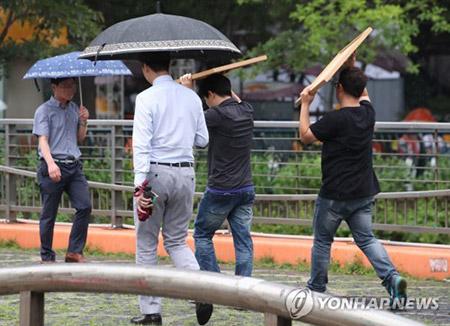 Retour de la pluie dans le centre et l'est du pays