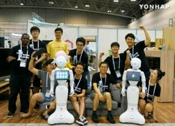 فوز فريق كوري في مسابقة روبوكاب 2017 في اليابان