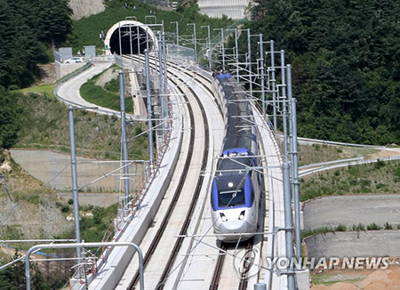 Seoul-Gangneung Bullet Train to Launch in December