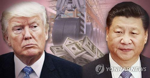 米中の貿易紛争 韓国にも打撃