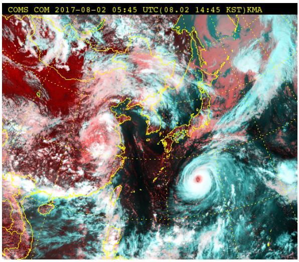 كوريا الجنوبية تستعد لوصول إعصار نورو