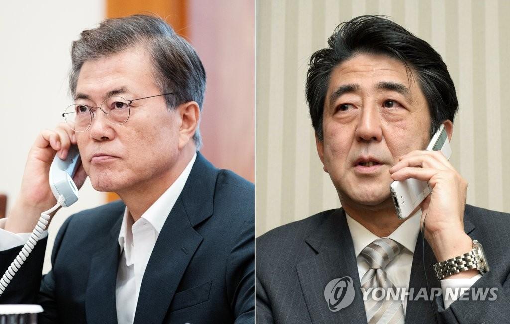 Moon und Abe vereinbaren stärkere Druckausübung gegen Nordkorea