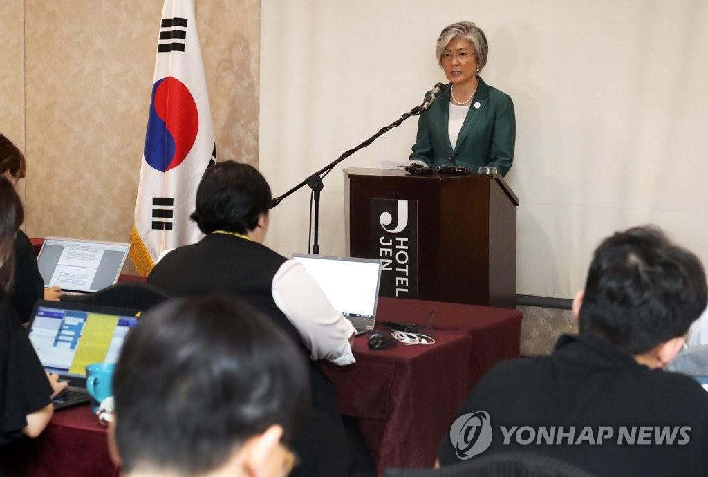 FM Kang: N. Korea Has Become More Isolated