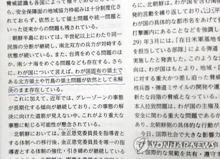 Япония в очередной раз назвала острова Токто своей территорией