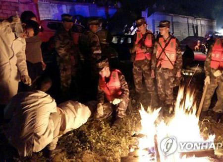 """민주당, """"쓰촨성 지진 피해 중국 국민들에게 위로 전해"""""""