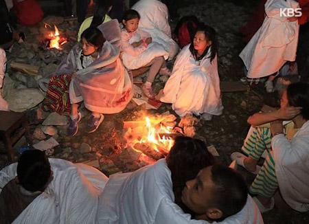 중국 구채구 갔던 한국인 99명 모두 대피…지진사망자 13명으로