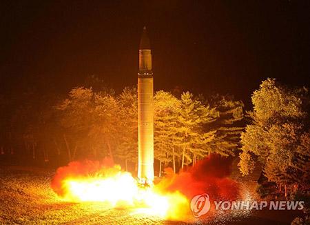美国:北韩成功开发可搭载在洲际导弹的小型核弹头