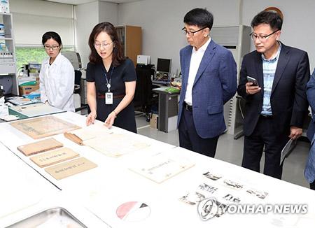 Les objets laissés par le botaniste Woo Jang-choon sont dévoilés pour la première fois
