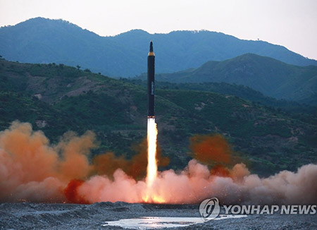 N. Korea: 4 Missiles to Land 30-40 km off Guam