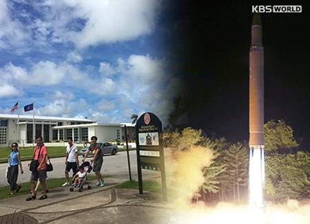 Nordkorea droht mit Angriff auf US-Insel Guam