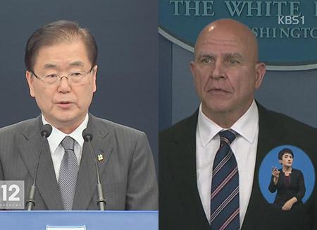 韓米安全保障担当が電話会談 段階ごとの北韓対応