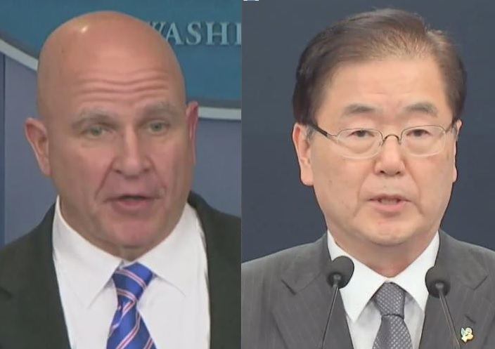 Security Advisers of S. Korea US Promise Collaboration against N. Korea