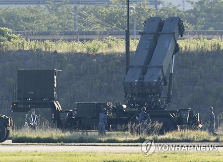 Силы самообороны Японии развернули комплексы Patriot