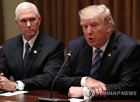 特朗普警告北韩若对关岛包围射击将遭到报复