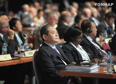 三星会长李健熙辞去IOC委员职务