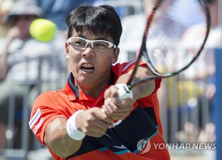 男子テニス ワールドツアーで韓国若手が優勝