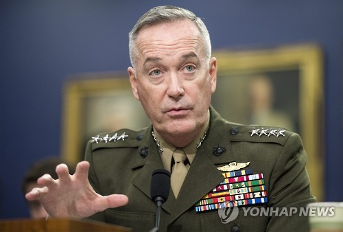 Chief of US JCS Due in South Korea