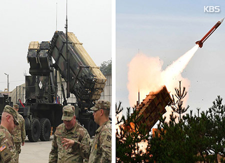 Mỹ triển khai lượng lớn tên lửa Patriot cho lực lượng quân đội đồn trú tại Hàn Quốc