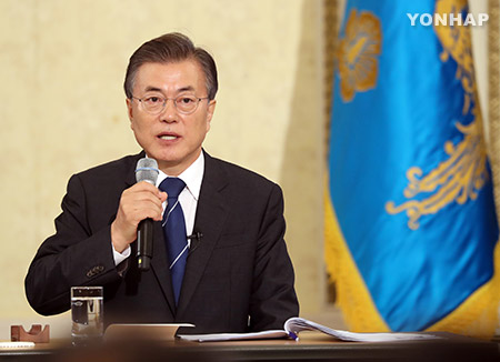 文大統領 21日に日韓議員連盟会長と会談