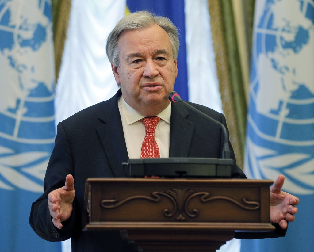 UN chief: Venezuela gov't, opposition talks needed to solve crisis