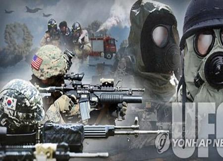 Liên quân Hàn-Mỹ bắt đầu tập trận thường niên
