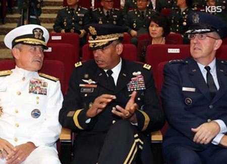 米軍指揮官3人 合同記者会見で北韓に警告