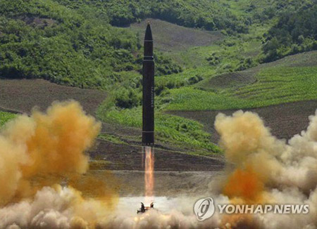 N. Korea Fires Projectiles into East Sea