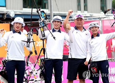 ユニバーシアードで韓国総合2位
