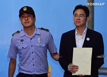 L'héritier de l'empire Samsung condamné à 5 ans de prison