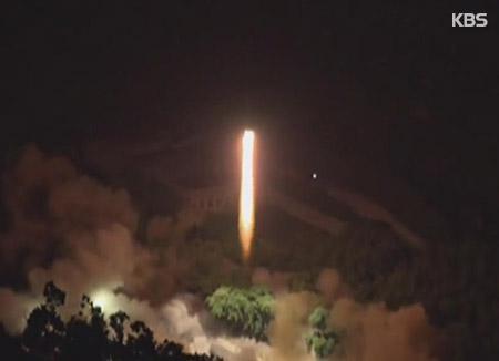 Kim Jong-un ist mit Raketentest zufrieden