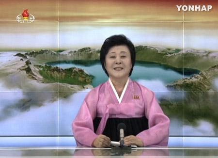 朝鲜中央电视台:北韩3日进行的洲际弹道导弹用氢弹试验获得成功