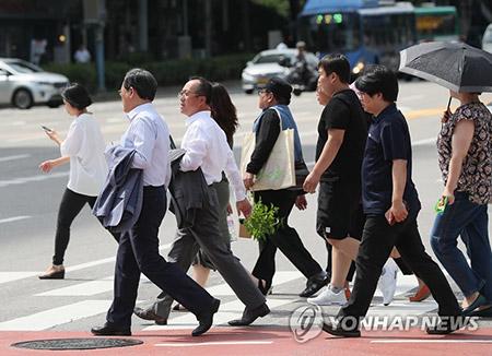 ソウルで真夏日 今週も暑さ続く
