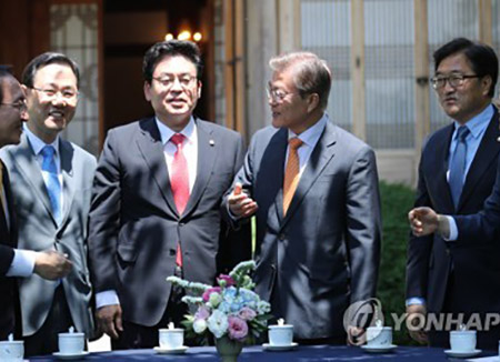 Presidential Office: Meeting among Pres. Moon and Major Parties Unlikely