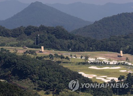 Enam Peluncur THAAD Telah Ditempatkan di Seongju