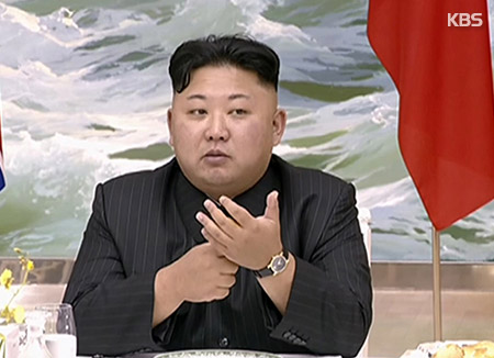 김정은, 재일교포 여성 위한 연회 마련…김영철 참석