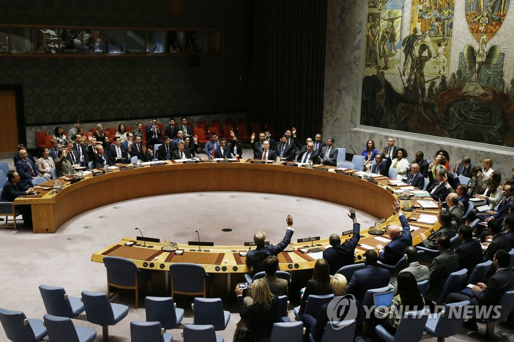 UNSC Unanimously Adopts New Sanctions against N. Korea
