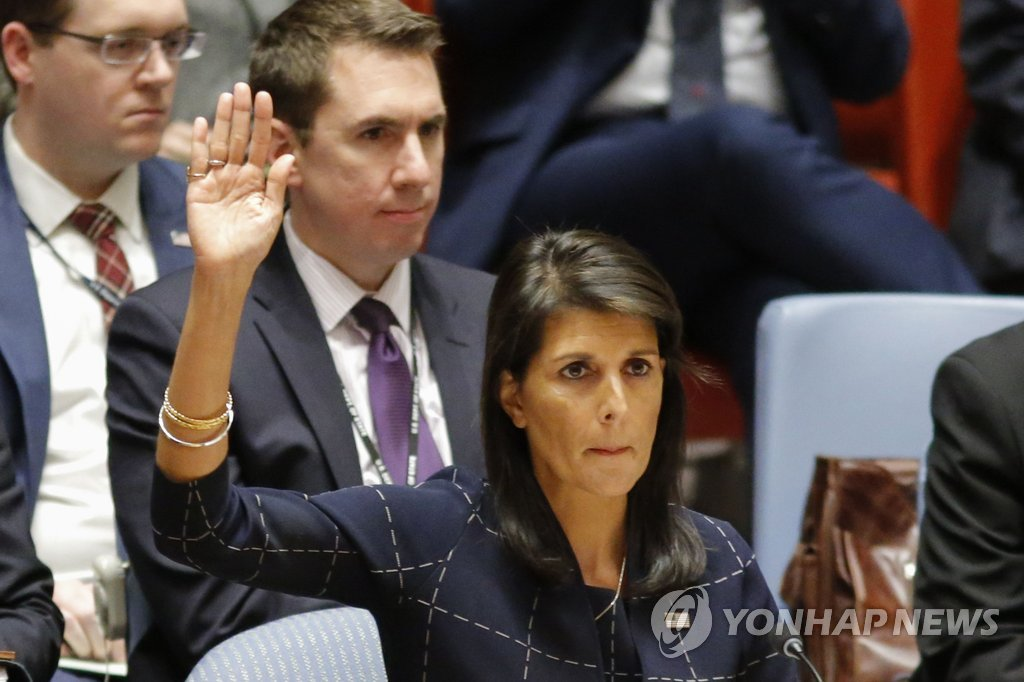 Haley: New Sanctions on N. Korea are Strongest Ever