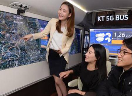 평창올림픽 5G 자율주행 버스 다음 달부터 운행