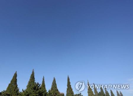 Un doux soleil brille sur la péninsule coréenne