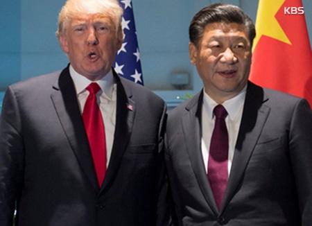Donald Trump y Xi Jinping comentan la situación de la península coreana