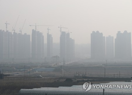 De entre los países de la OCDE Corea presenta el mayor nivel de esmog