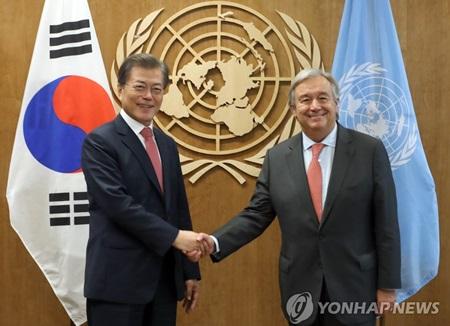 Séoul et Tokyo saluent l'avertissement de Trump à Pyongyang