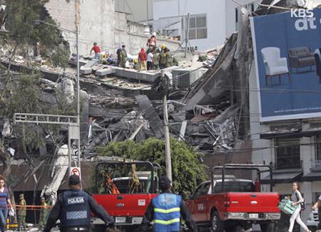 La terre tremble de nouveau au Mexique