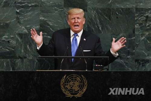 US-Präsident Trump warnt Nordkorea vor totaler Zerstörung