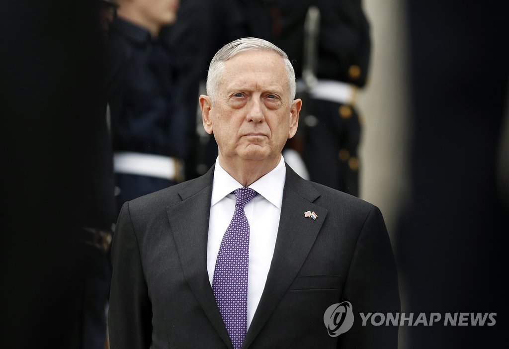 Mattis hints at secret 'kinetic' military options for North Korea
