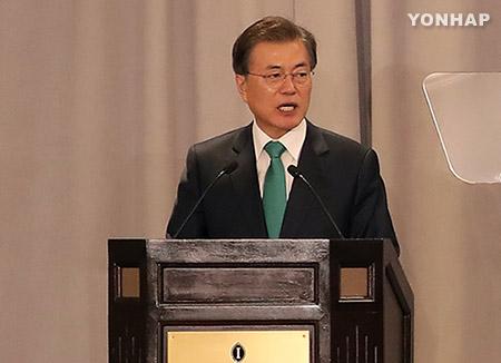 文大統領、米経済人に「韓国への投資」を訴える