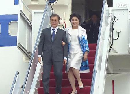 Президент РК Мун Чжэ Ин вернулся на родину, завершив визит в США
